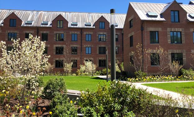 Yale Baker Hall Landscape