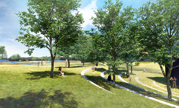 Library Landscape Master Plan